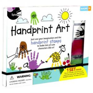 Spicebox Handprint Art