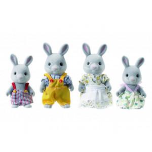 Sylvanian-Families-Cottontail-Rabbit-Family