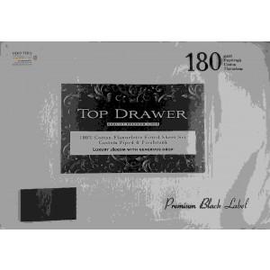 op Drawer Flannelette Sheet Set Queen White