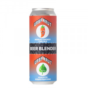 Urbanaut Beer Blender - Manuka Smoked Chili Ale + Horopito Kawakawa Gose