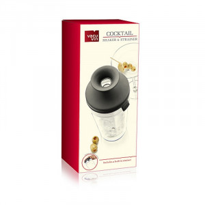 Vacuvin Cocktail Shaker & Strainer