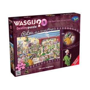 Retro Wasgij Destiny 1 - The Best Days of Our Lives!