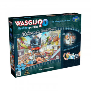 Retro Wasgij Mystery 1 - Wasgij Express!