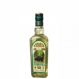 Brestskaya Zubrovka Bison Grass Vodka