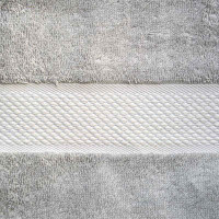 Baksana Aegean Glacier Grey Bath Sheet