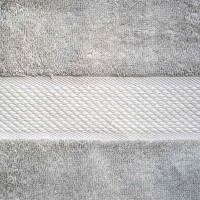 Baksana Aegean Glacier Grey Bath Towel