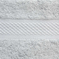 Baksana Aegean Glacier Grey Face Cloth