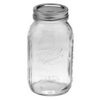 Ball Regular Mouth Quart Glass Preserving Jars