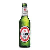 Becks lager beer