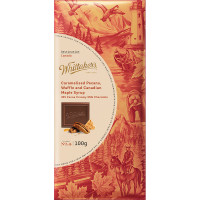 Whittaker's Destination Range: Caramalised Pecans, Waffle and Canadian Maple Syrup