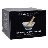 Cole & Mason Ceramic Suribachi Mortor & Pestle