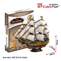 CubicFun HMS Victory 3D puzzle
