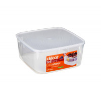 Decor Square Cake Storer 6L