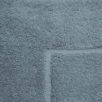 Baksana Aegean Denim Blue Bath Mat