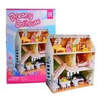 CubicFun Dreamy Dollhouse 3D Puzzle
