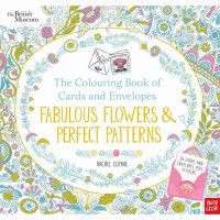 The Colouring Book of Cards and Envelopes: Fabulous Flowers