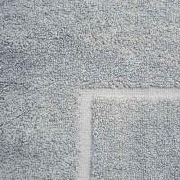 Baksana Aegean Glacier Grey Bath Mat