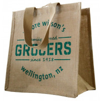 Moore Wilsons Jute Grocer's Bag