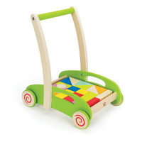 Hape Block And Roll Wagon