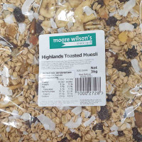 Moore Wilson's Highlands Toasted Muesli