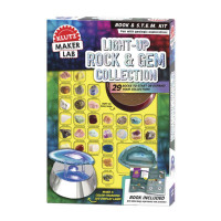 Klutz Light Up Crystal Rock & Gem Collection