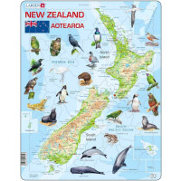Larsen Map of New Zealand Puzzle