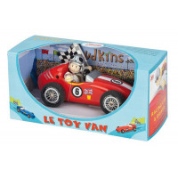 Le Toy Van Budkins Red Retro Racer