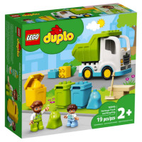 Lego Duplo Garbage Truck & Recycling