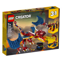Lego Creator 3 in 1 Fire Dragon