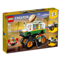Lego Creator 3 in 1 Monster Burger Truck