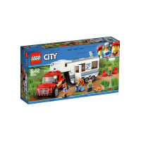 Lego Pick Up & Caravan