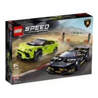 Lego Speed Champions Lamborghini Urus ST-X & Lamborghini Huracán Super Trofeo EVO