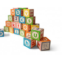 Lower Case Alphabet Blocks