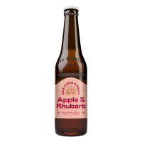 Moa Rhubarb Apple Cider