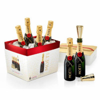 Moet & Chandon Brut Imperial Champagne Mini 6 Pack