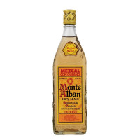 Monte Alban Mezcal with Worm