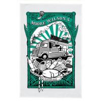 Moore Wilson's 'Chook Wagon' Teatowel