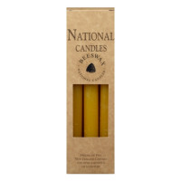 National Candles Beeswax 6 pack