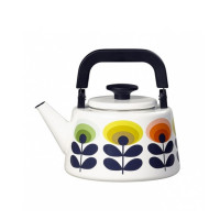 Orla Kiely Kettle 70's Oval Flower
