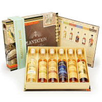 Plantation Rum Cigar Box selection
