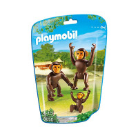 Playmobil Chimpanzee Family