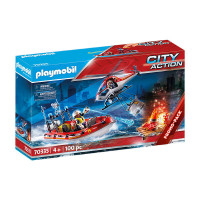 Playmobil Fire Rescue Mission