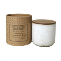 Raine & Humble Scented Candle in Canister Sea Salt & Sage