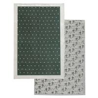 Raine & Humble 2 Pack Green Tea Towel