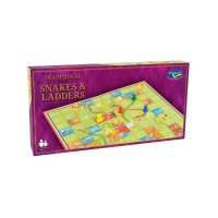 Classic Snakes & Ladders Boxed Game