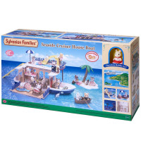 Sylvanian Families Seaside House Boat