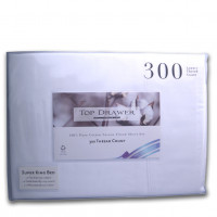 Top Drawer 300 Thread Count Sheet Set - Super King