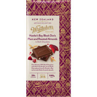 Whittaker's Artisan Collection: Black Doris Plum & Almond Chocolate