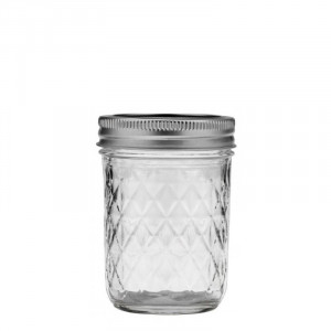 Ball Regular Mouth Quilted 8oz Jars