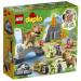Lego Jurassic World T. rex and Triceratops Dinosaur Breakout